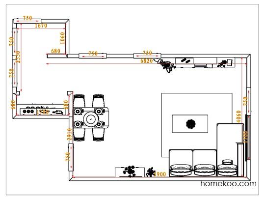 平面布置图乐维斯系列客餐厅G0770