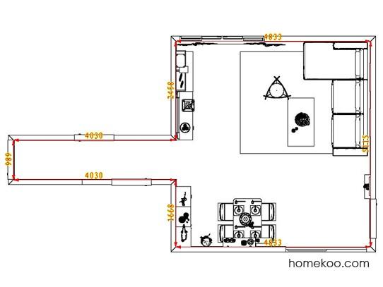平面布置图乐维斯系列客餐厅G0782