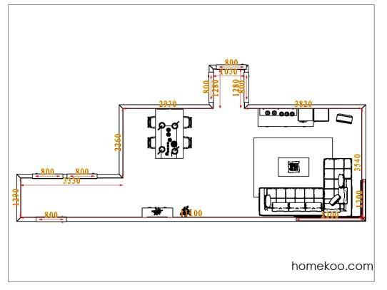 平面布置图斯玛特系列客餐厅G0792