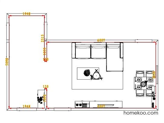 平面布置图斯玛特系列客餐厅G0810