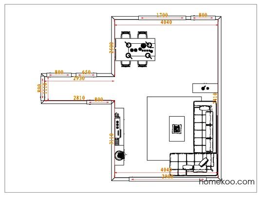 平面布置图斯玛特系列客餐厅G0814
