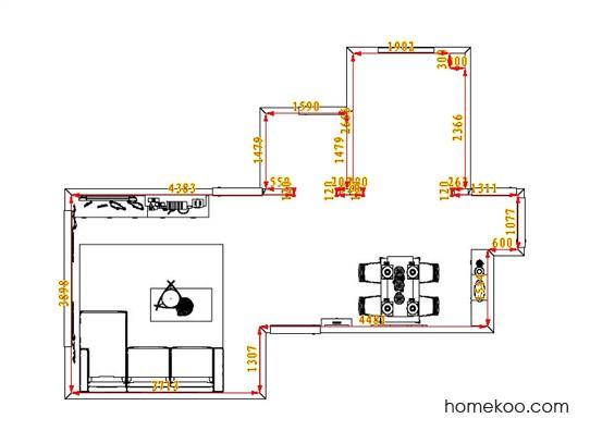 平面布置图乐维斯系列客餐厅G0818