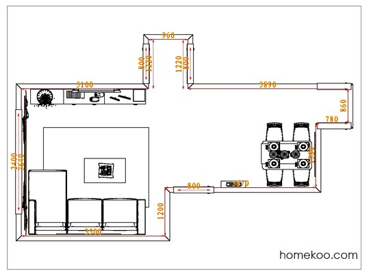 平面布置图乐维斯系列客餐厅G0825