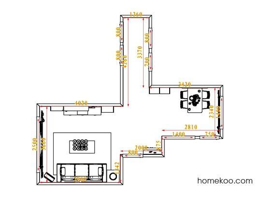 平面布置图乐维斯系列客餐厅G0846
