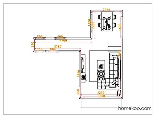 平面布置图贝斯特系列客餐厅G0851