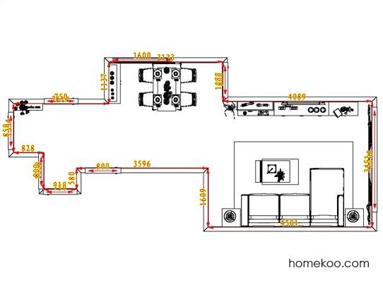 平面布置图斯玛特系列客餐厅G0906