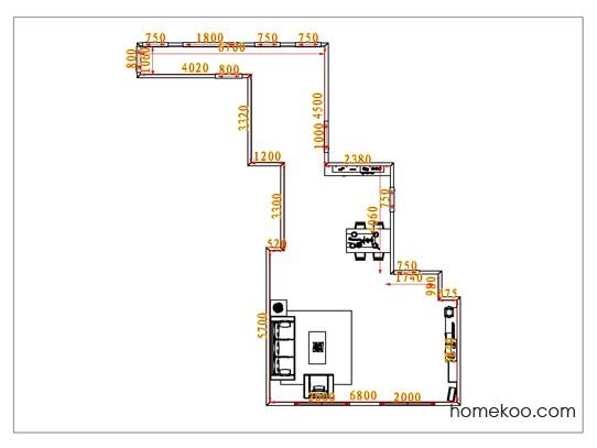 平面布置图贝斯特系列客餐厅G0908