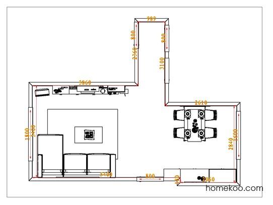 平面布置图斯玛特系列客餐厅G0928