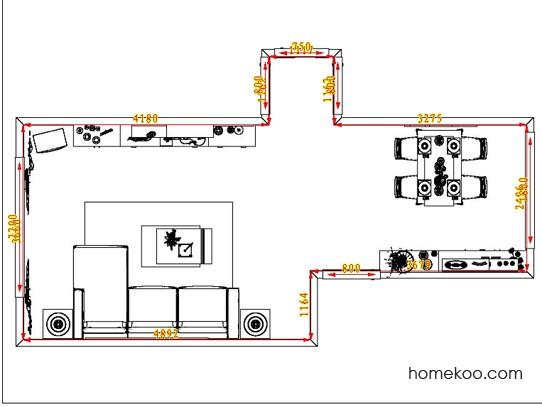 平面布置图斯玛特系列客餐厅G0947