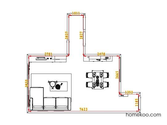 平面布置图乐维斯系列客餐厅G0973