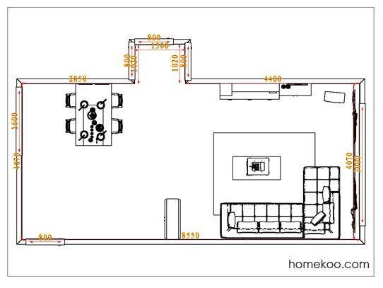 平面布置图格瑞丝系列客餐厅G1004