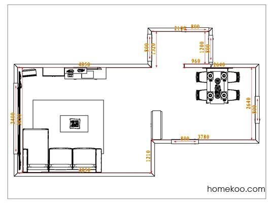 平面布置图贝斯特系列客餐厅G1021