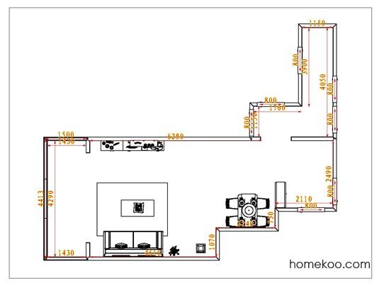 平面布置图乐维斯系列客餐厅G1028