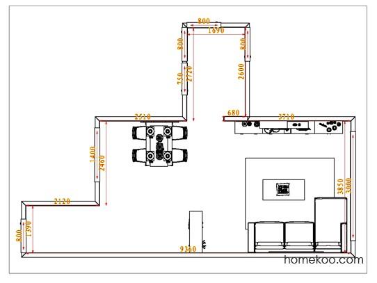 平面布置图乐维斯系列客餐厅G1060