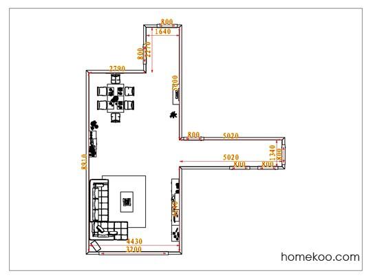 平面布置图斯玛特系列客餐厅G1065
