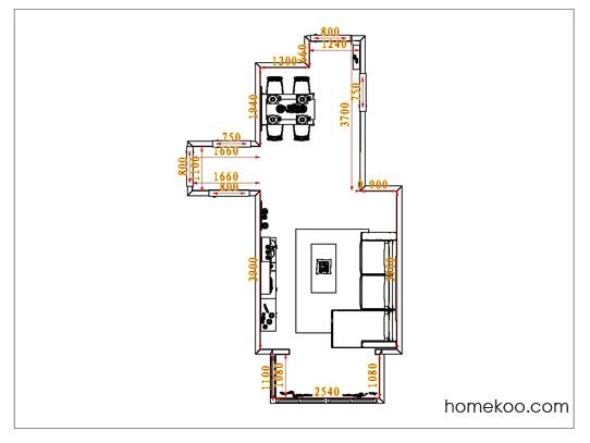 平面布置图乐维斯系列客餐厅G1114