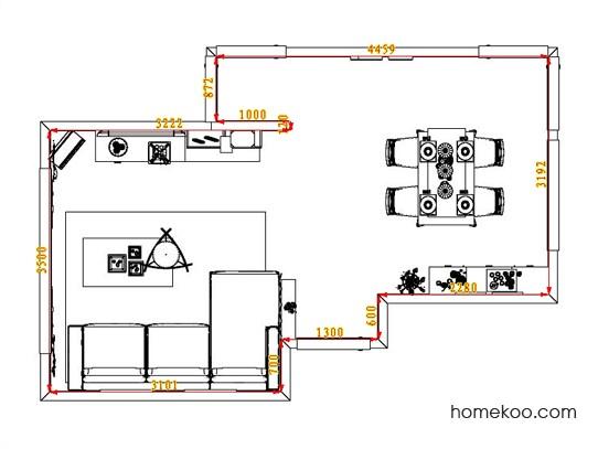 平面布置图乐维斯系列客餐厅G1133