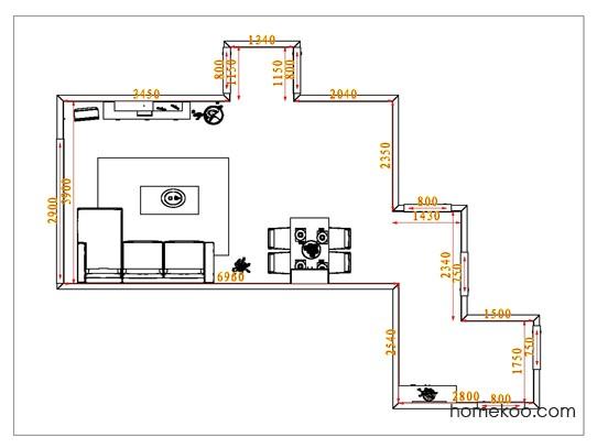 平面布置图贝斯特系列客餐厅G1139