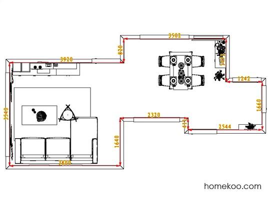 平面布置图乐维斯系列客餐厅G1144