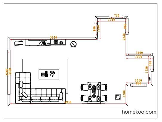 平面布置图斯玛特系列客餐厅G1148