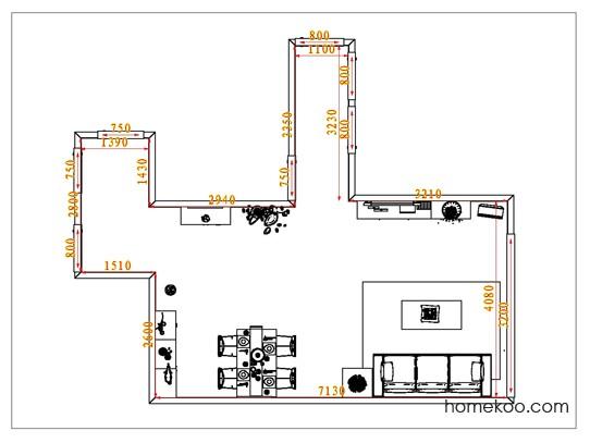 平面布置图斯玛特系列客餐厅G1150