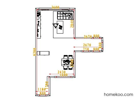 平面布置图乐维斯系列客餐厅G1162