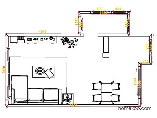 平面布置图乐维斯系列客餐厅G1185