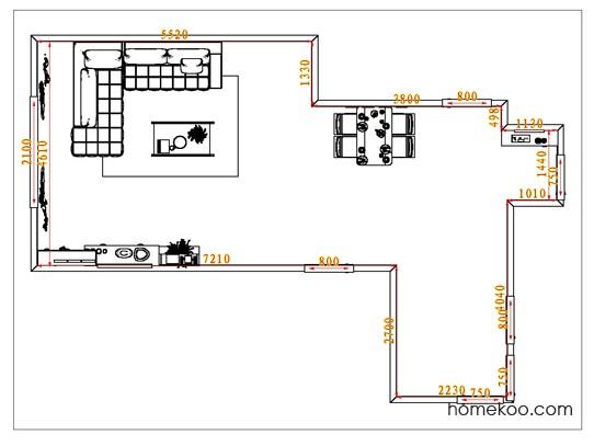 平面布置图贝斯特系列客餐厅G1210