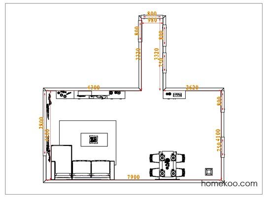 平面布置图乐维斯系列客餐厅G1229