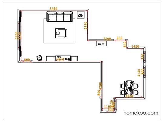 平面布置图斯玛特系列客餐厅G1248