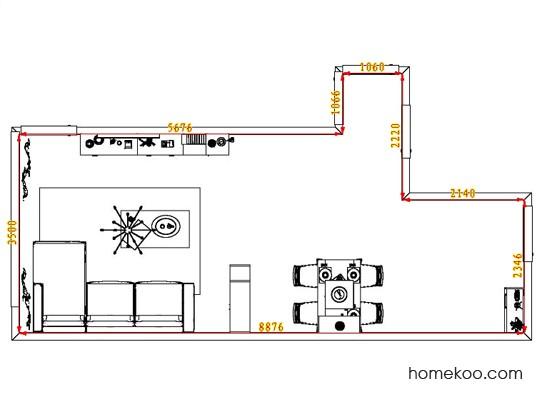 平面布置图乐维斯系列客餐厅G1262