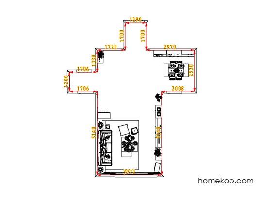 平面布置图乐维斯系列客餐厅G1267