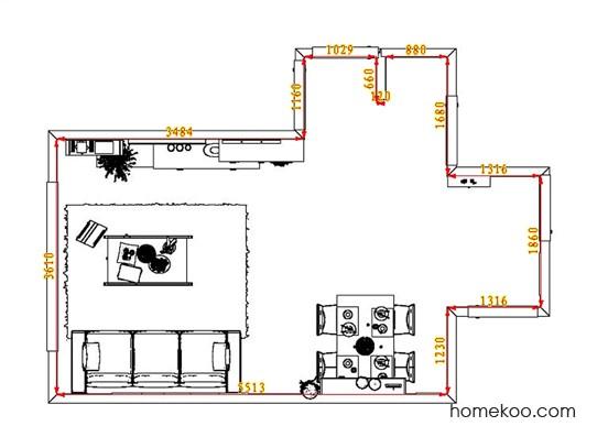 平面布置图乐维斯系列客餐厅G1283