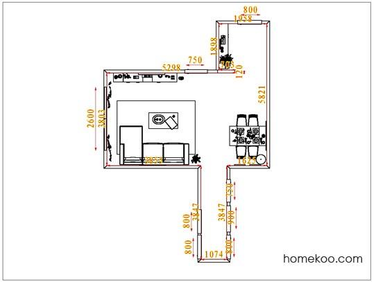 平面布置图乐维斯系列客餐厅G1373
