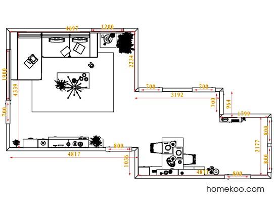 平面布置图乐维斯系列客餐厅G1377