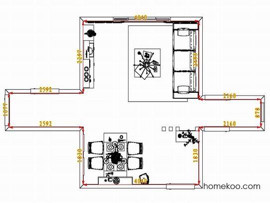 平面布置图贝斯特系列客餐厅G1379