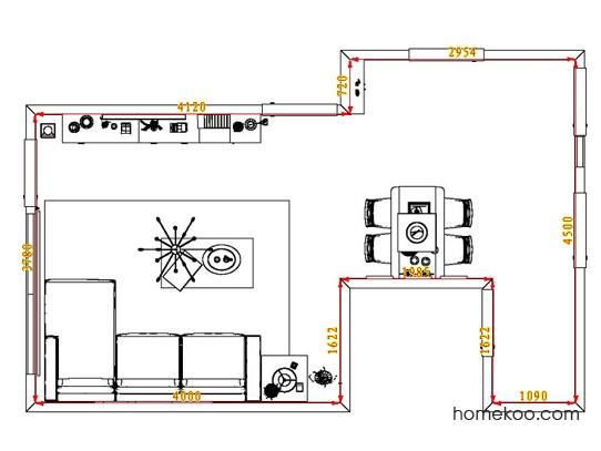 平面布置图格瑞丝系列客餐厅G1381
