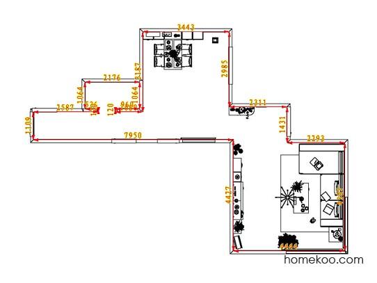 平面布置图乐维斯系列客餐厅G1396