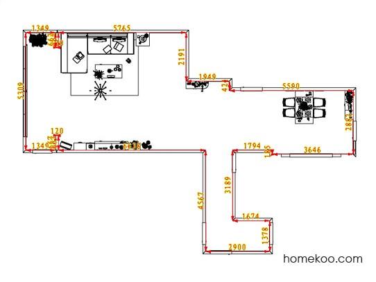 平面布置图贝斯特系列客餐厅G1410