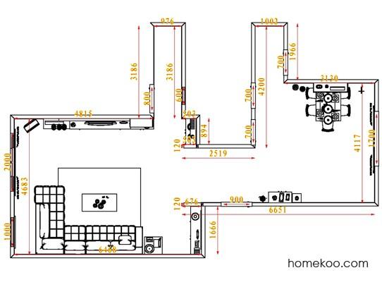 平面布置图乐维斯系列客餐厅G1432