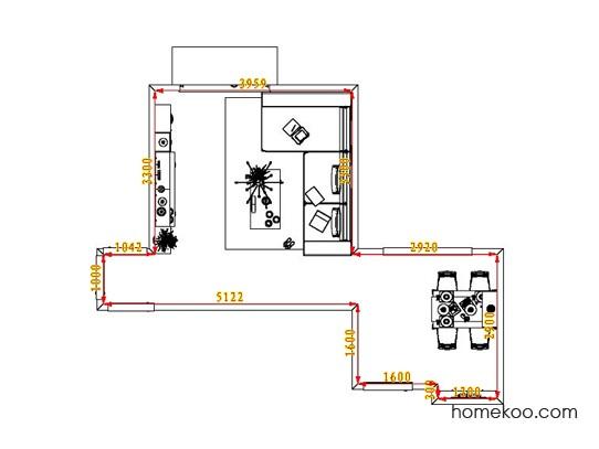 平面布置图乐维斯系列客餐厅G1447