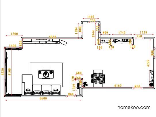 平面布置图格瑞丝系列客餐厅G1469