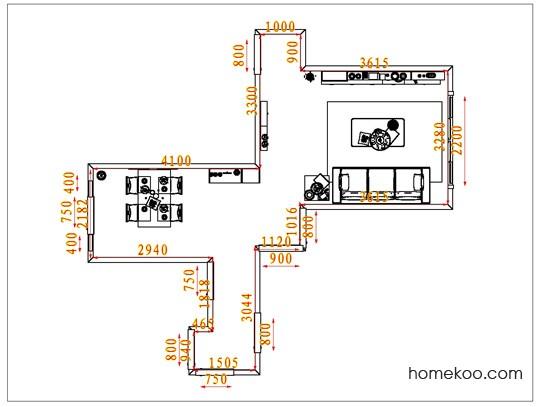 平面布置图贝斯特系列客餐厅G1487