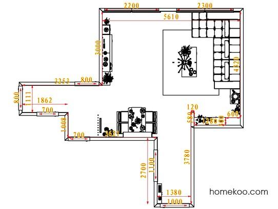 平面布置图乐维斯系列客餐厅G1529