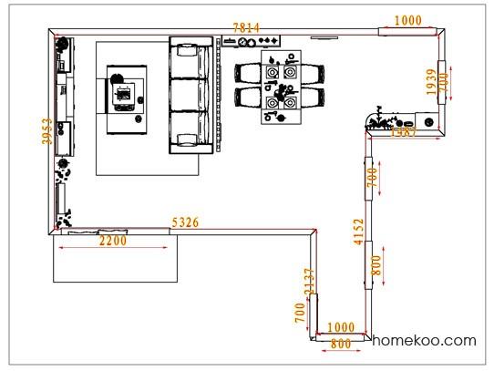 平面布置图格瑞丝系列客餐厅G1530