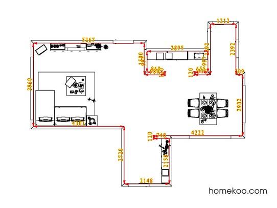 平面布置图乐维斯系列客餐厅G1569