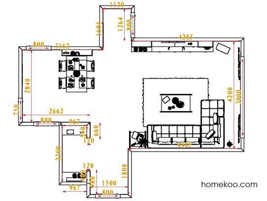 平面布置图乐维斯系列客餐厅G1570
