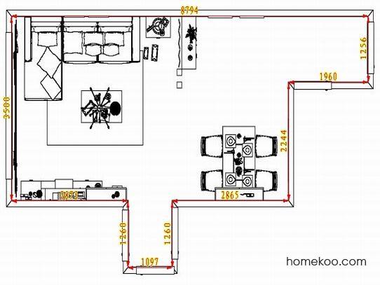平面布置图乐维斯系列客餐厅G1574