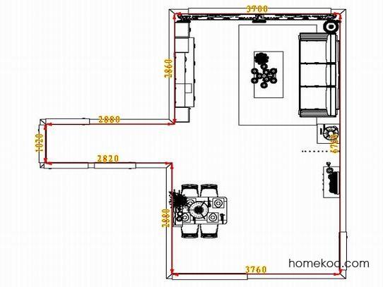 平面布置图乐维斯系列客餐厅G1612