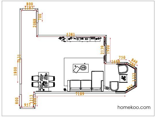 平面布置图格瑞丝系列客餐厅G1627